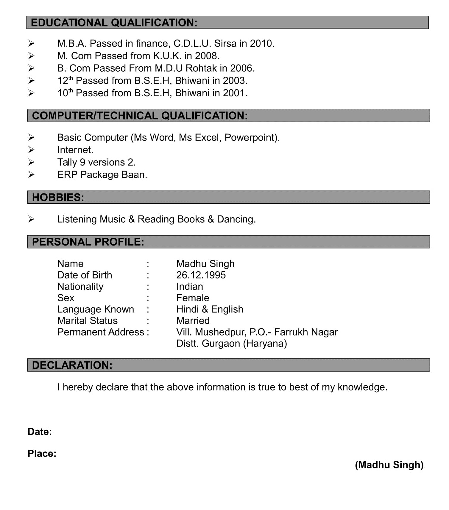 resume formats making qualification format photoshop template free upload sites activity Resume Resume Qualification Format