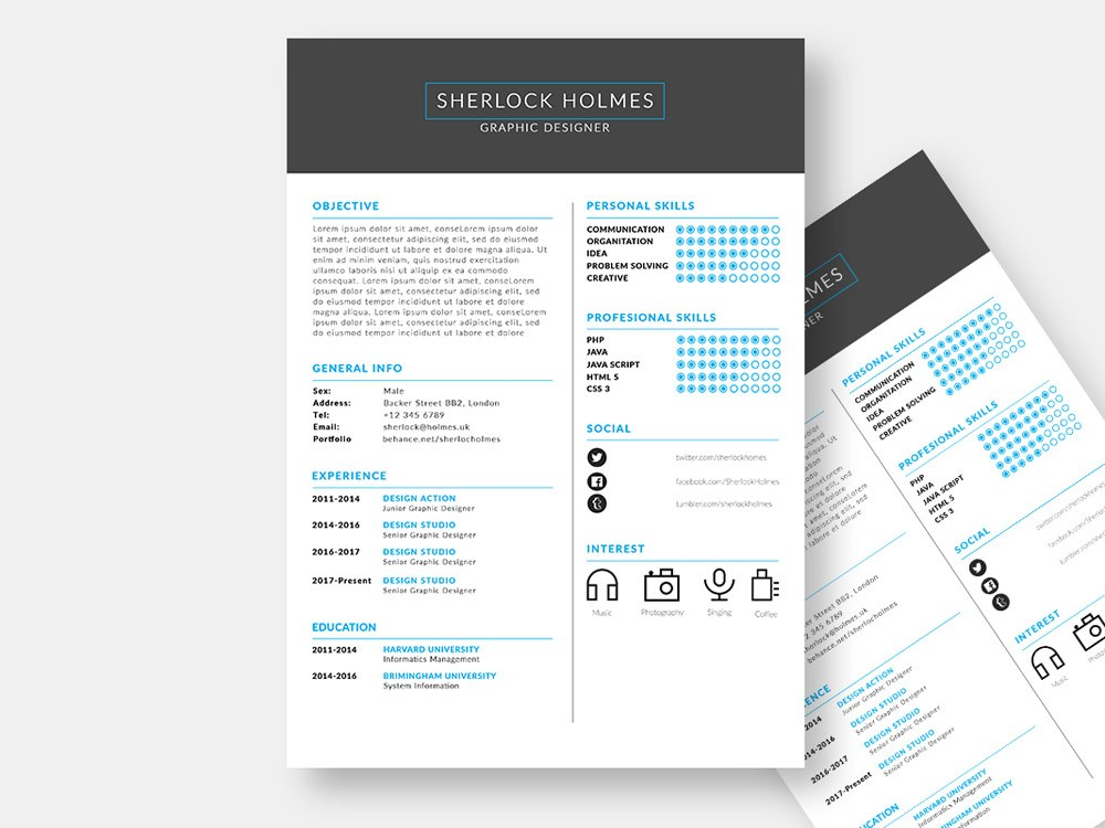 resume free fully customizable template in format material mover stock clerk entry level Resume Customizable Resume Template