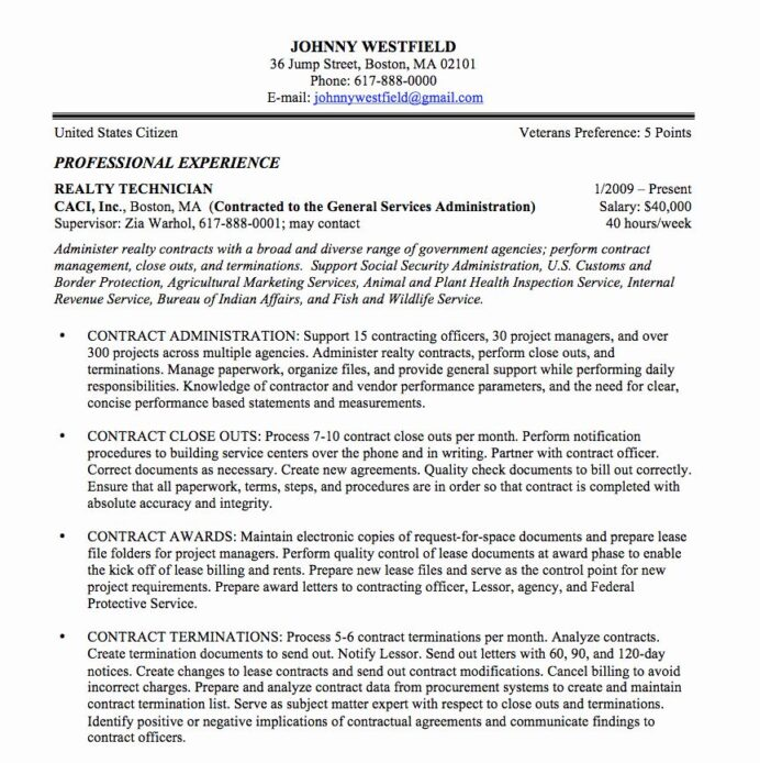 resume in paragraph form awesome federal sample and format the place job template samples Resume Free Federal Resume Template Word