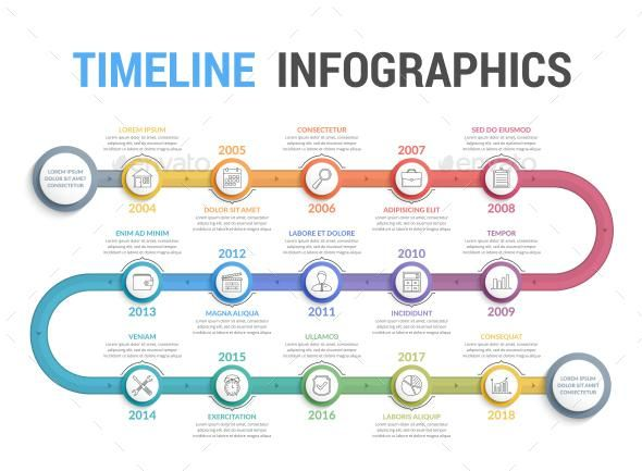 resume infographic timeline infographics graphicriver resumes tn home of inspiration Resume Infographic Resume Timeline