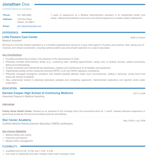 resume maker create standout professional and cv best for freshers collegium send via Resume Best Resume Maker For Freshers