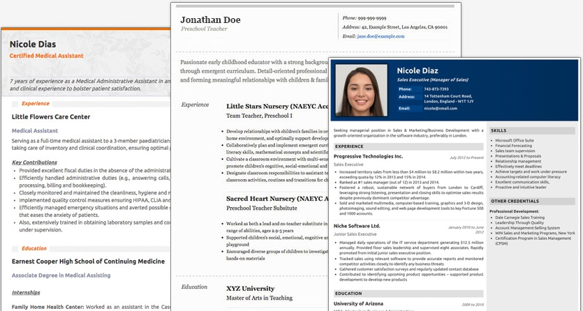 resume maker create standout professional and cv best for freshers designs new awards Resume Best Resume Maker For Freshers