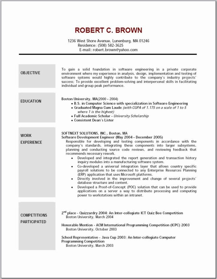 resume objective sample best examples catchy statements example of child care junior mep Resume Catchy Resume Objective Statements