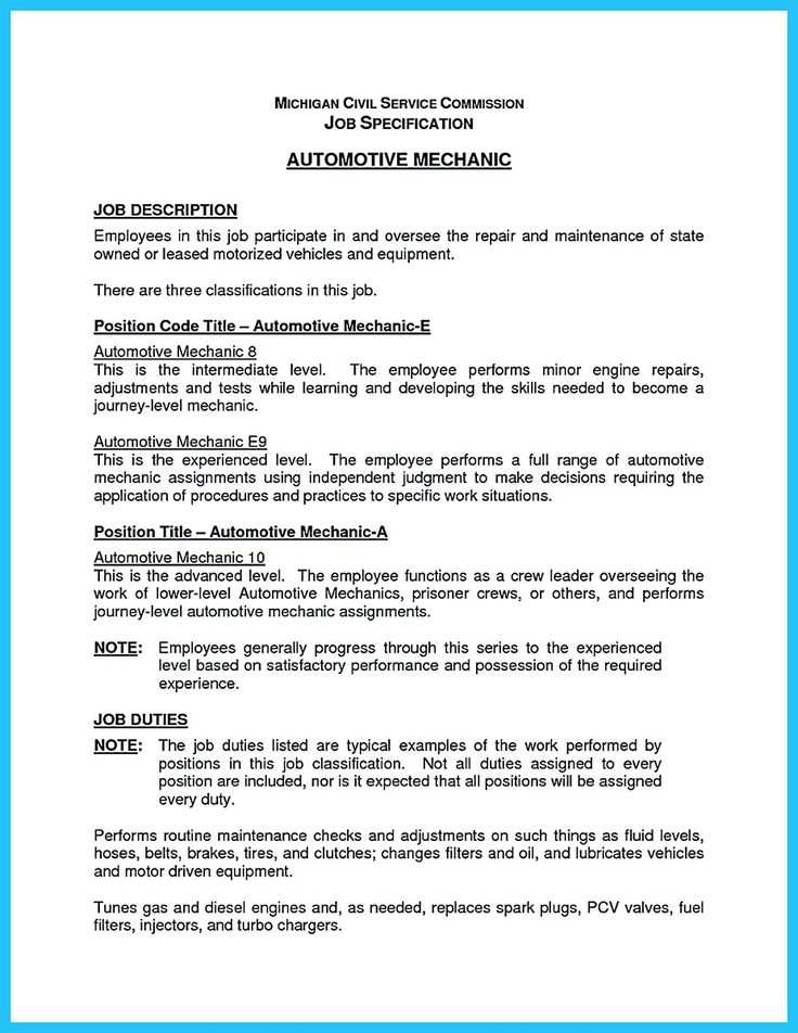 resume sample auto technician body objective examples google documents free management Resume Auto Body Resume Objective Examples