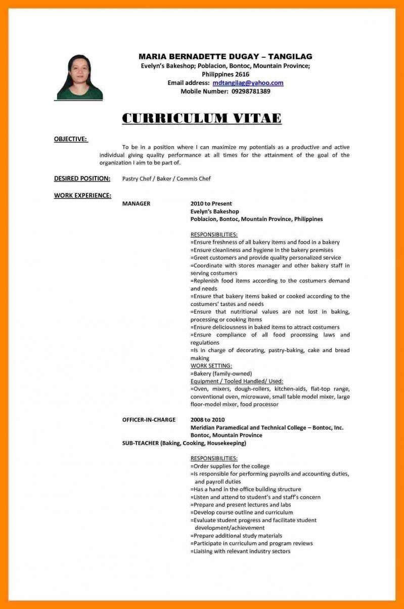 resume sample fresh graduate teacher template graduating for cpa updated format chief of Resume Sample Resume For Cpa Fresh Graduate
