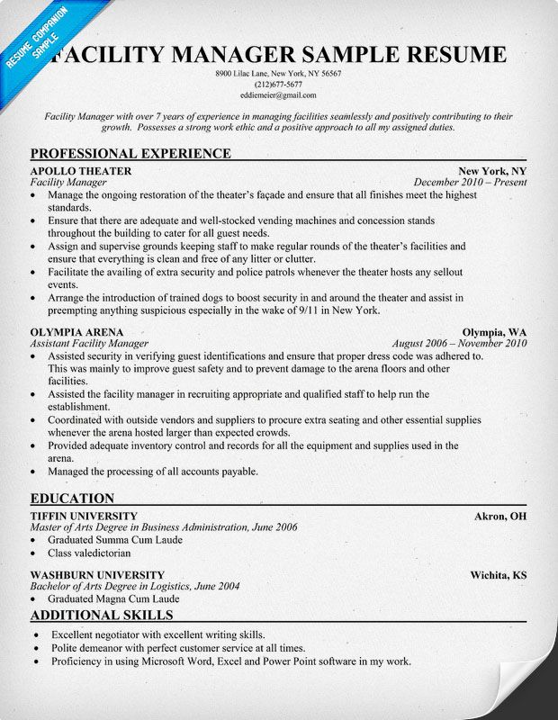 resume samples and to write companion maintenance jobs objective examples manager fund Resume Maintenance Manager Resume Objective
