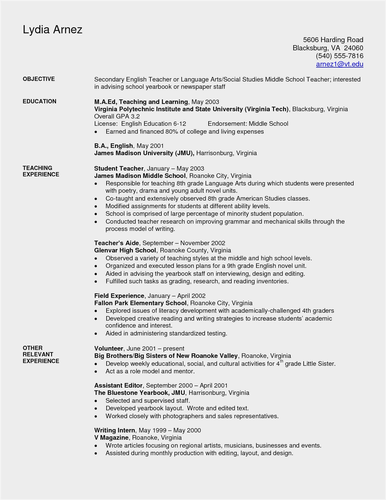 resume samples for high school teachers sample middle domain name patent pending strong Resume Sample Middle School Resume