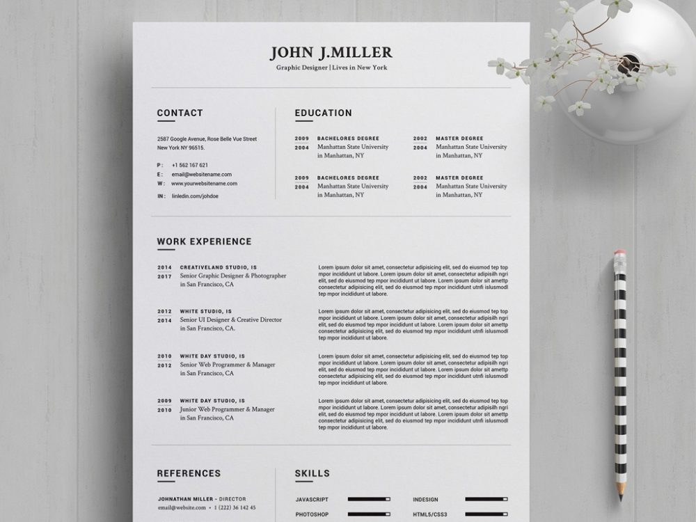 resume template in ms word format free setresume microsoft office templates 1000x750 Resume Microsoft Office Resume Templates 2021