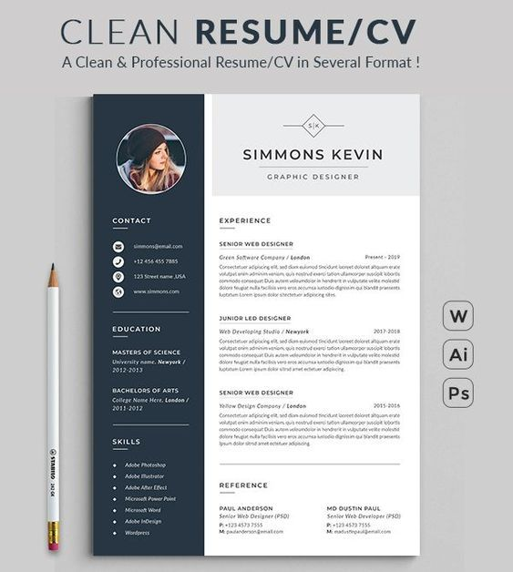 resume template professional ms word modern etsy in design microsoft office templates Resume Microsoft Office Resume Templates 2021