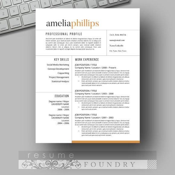resume template word professional eye catching templates records management clerk sample Resume Eye Catching Resume Templates