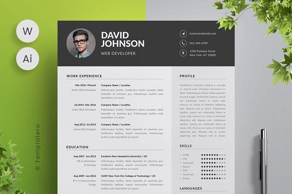 resume templates design template cover letter with this modern eye catching you resumes Resume Eye Catching Resume Templates