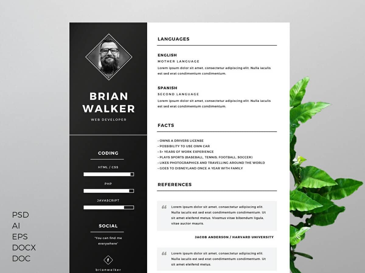 resume templates for microsoft word free contemporary hackathon example automation test Resume Contemporary Resume Templates Free Word
