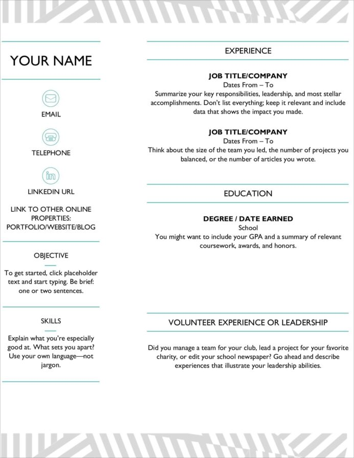 resume templates for microsoft word free create on ms word23 front desk job description Resume Create Resume On Microsoft Word