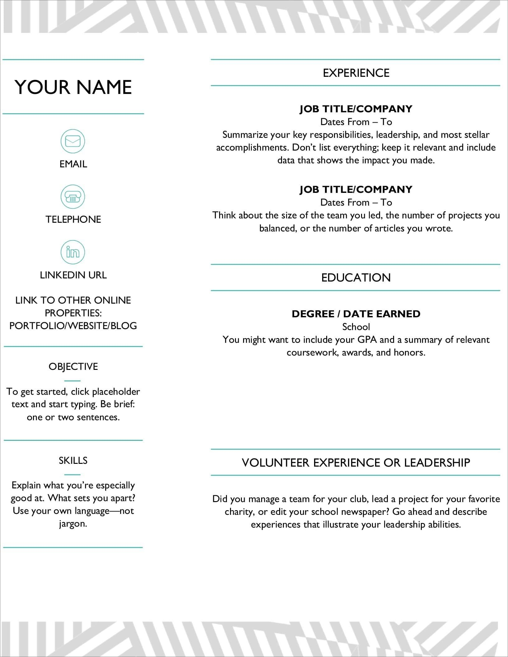resume templates for microsoft word free template ms word23 sourcer lpn sample new Resume Microsoft Word Resume Template