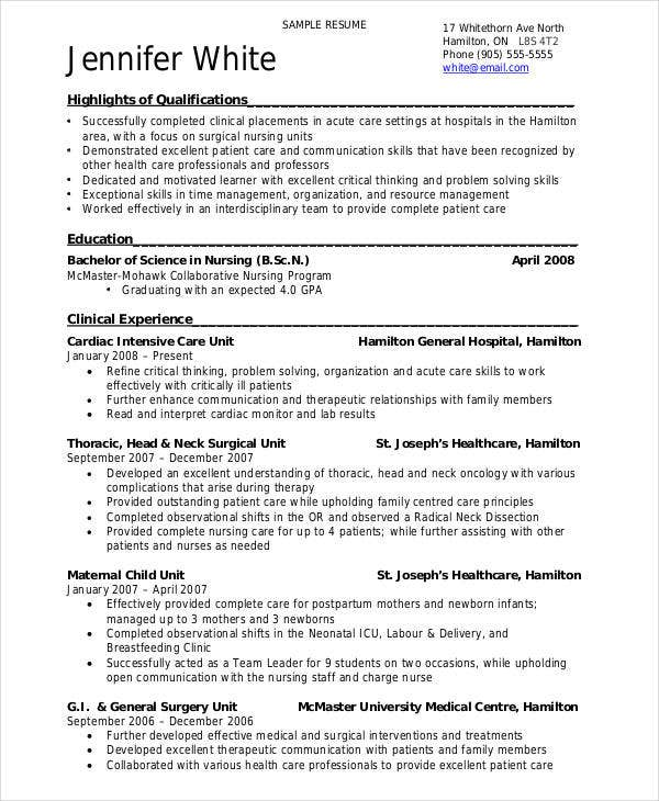 resume templates pdf free premium template format for bsc nursing freshers ngo job Resume Canadian Resume Template Free