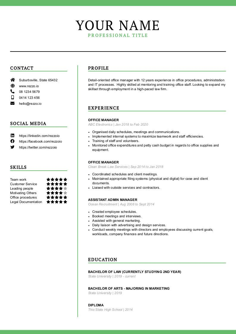 resume templates rezzo traditional template resume7 data visualization truly free Resume Traditional Resume Template