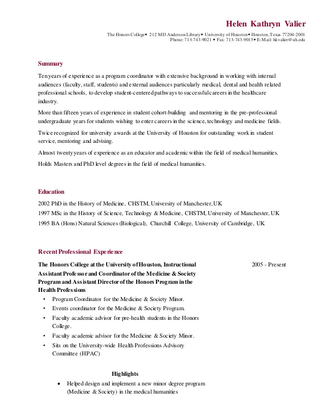 resume valier for honors college knowledge skills and abilities sample diploma Resume Resume For Honors College