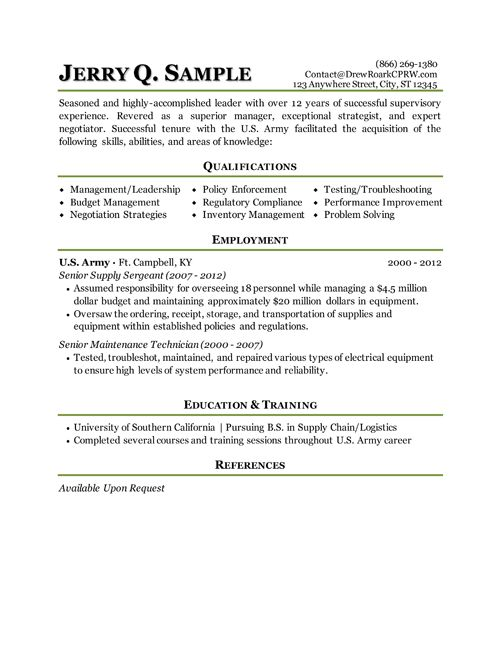 resume writing services for military veterans service on marketing examples curriculum Resume Military Service On Resume