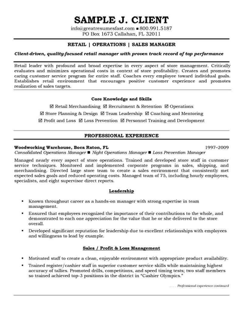 retail operations and manager resume loss prevention sample blaster pretty layouts pmo Resume Loss Prevention Manager Resume Sample