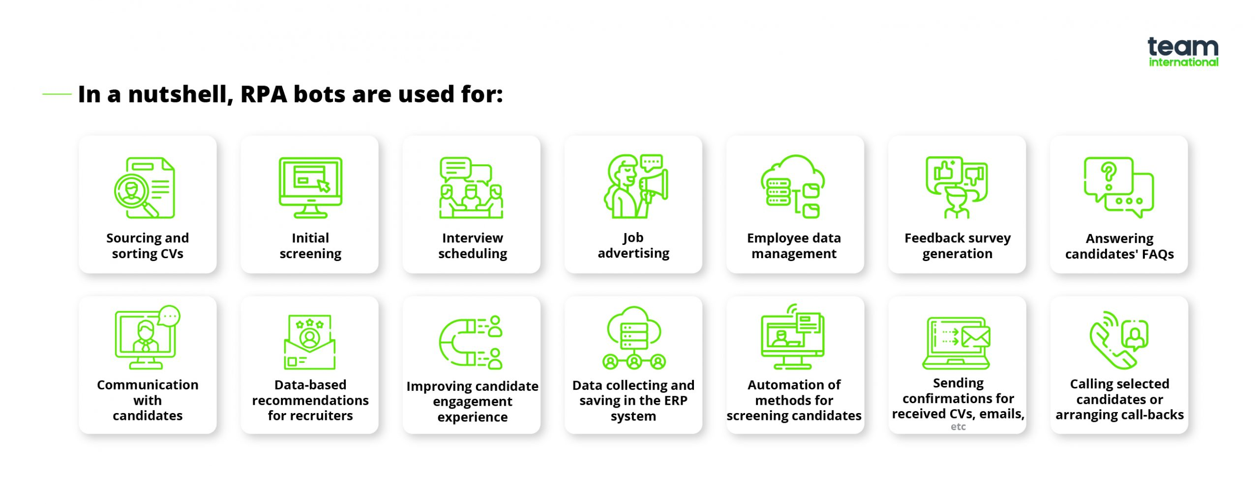 robotic process automation in recruitment bots impact the candidate screening resume Resume Robotic Process Automation Resume