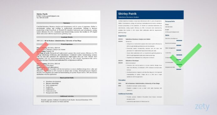 salesforce resume sample and complete writing guide tips for administrator example Resume Salesforce Admin Resume For 3 Years Experience