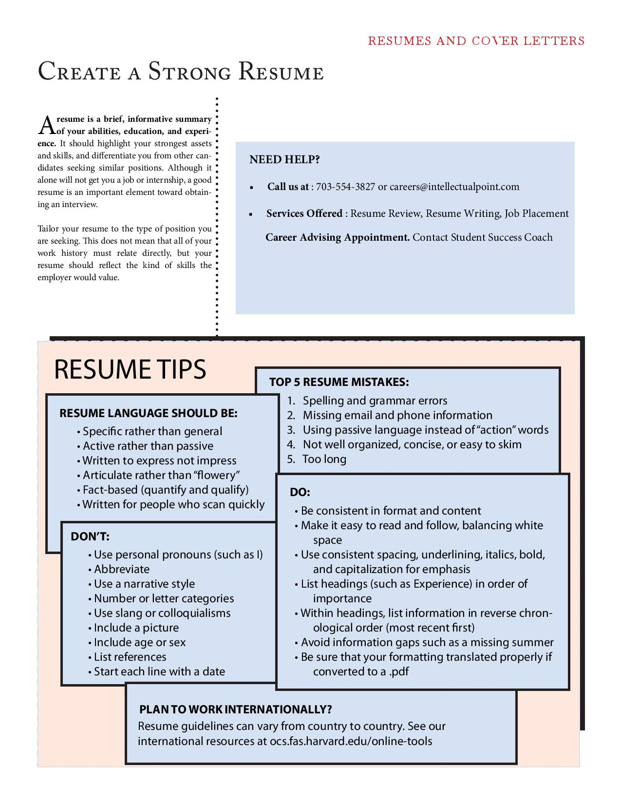 sample inspiring resumes intellectual point david careers resume review cover letters Resume David Careers Resume Review