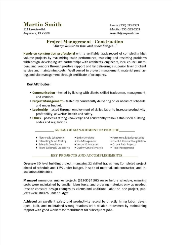 sample project manager resume military management sap testing core functional format hvac Resume Military Project Management Resume