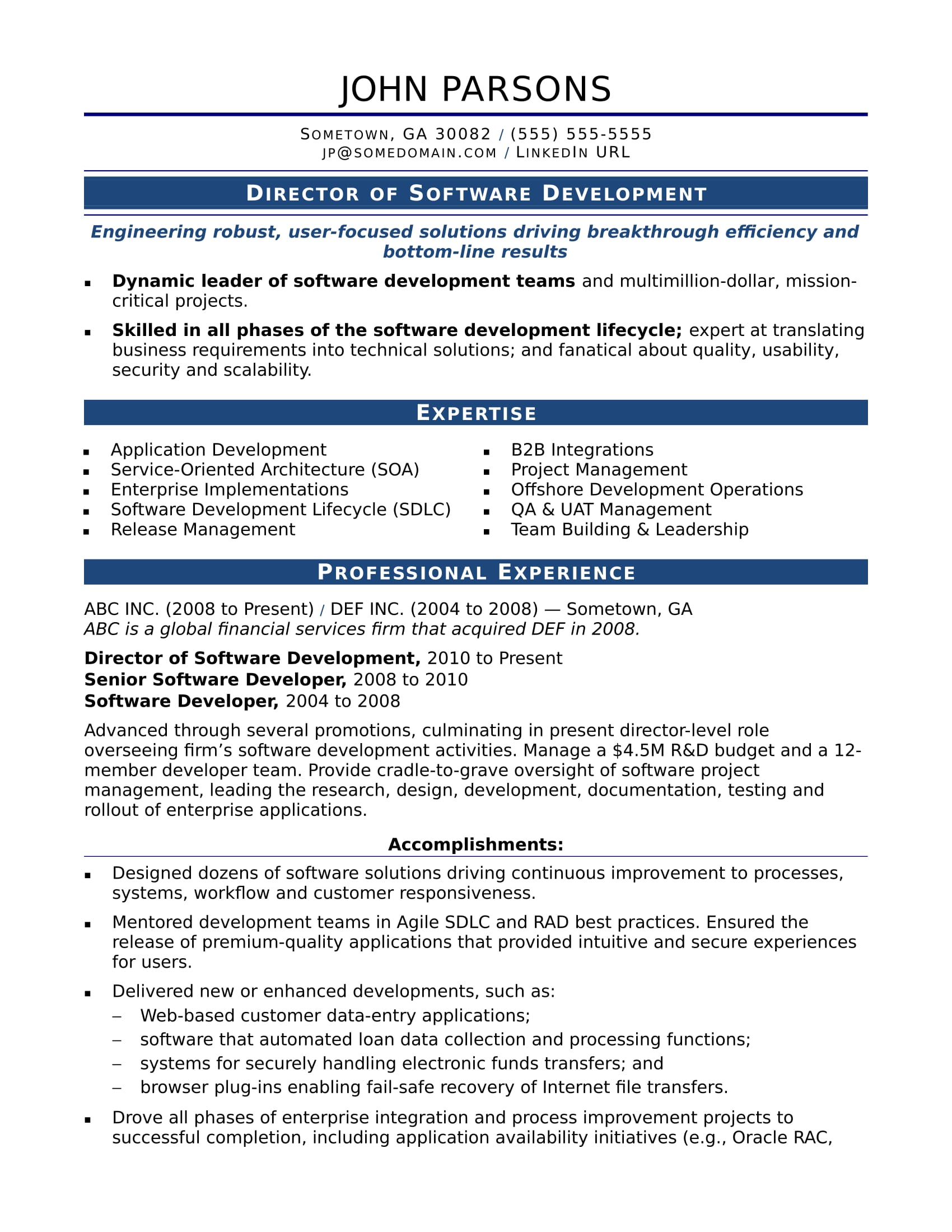 sample resume for an experienced it developer monster work experience examples designtaxi Resume Resume Work Experience Examples