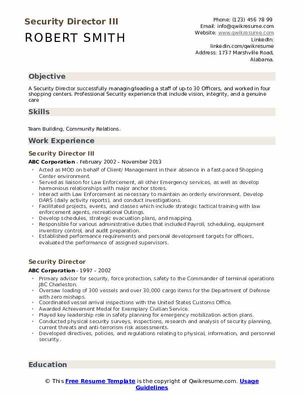 security director resume samples qwikresume pdf cpr certification on example best Resume Security Director Resume