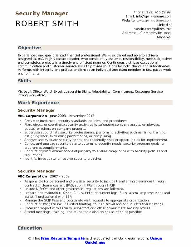 security manager resume samples qwikresume corporate pdf words for collaborate fast food Resume Corporate Security Manager Resume
