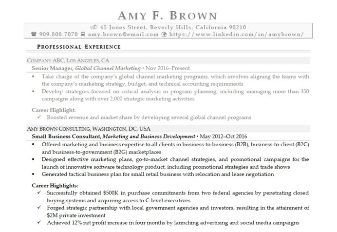self employed resume writing tips for your job search sample pizza hut carpenter Resume Self Employed Resume Sample