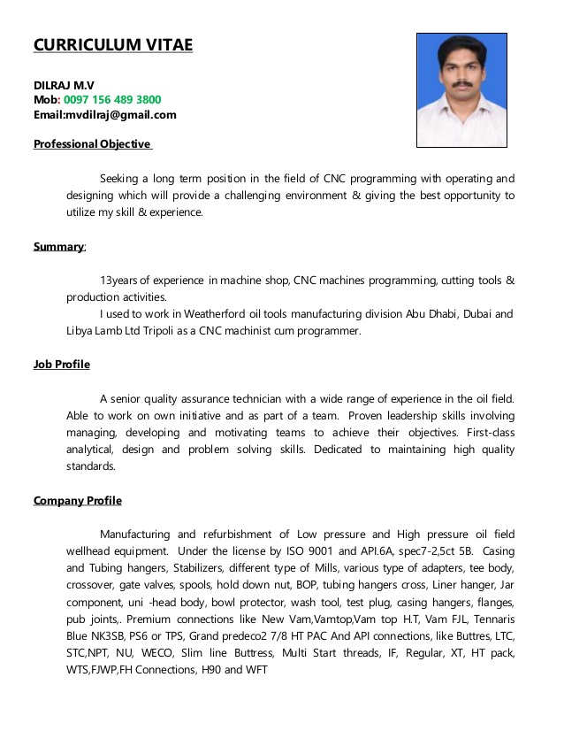 senior cnc programmer resume chief building engineer curriculum staged reading on mail Resume Senior Cnc Programmer Resume