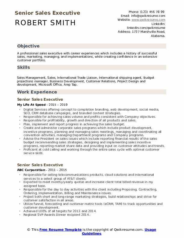 senior executive resume samples qwikresume level sample pdf summary paragraph stage crew Resume Senior Level Resume Sample