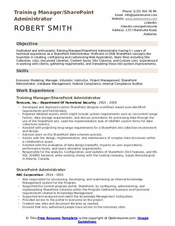 sharepoint administrator resume samples qwikresume pdf quality control specialist Resume Sharepoint Administrator Resume