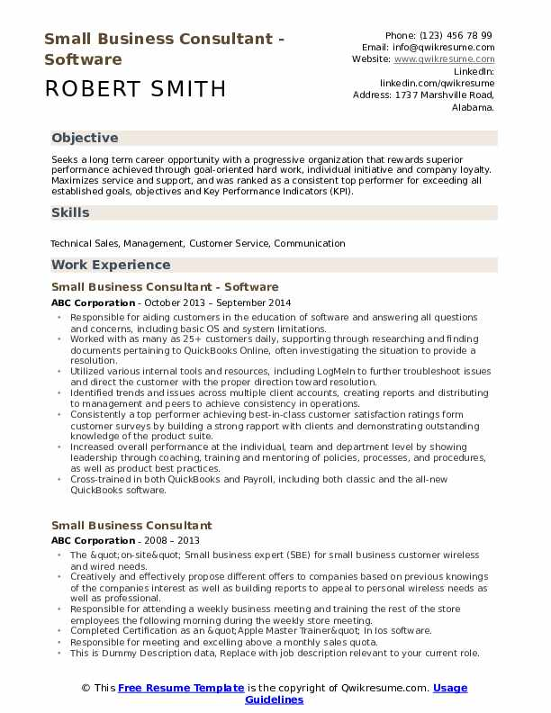 small business consultant resume samples qwikresume advisor pdf assistant manager paper Resume Small Business Advisor Resume