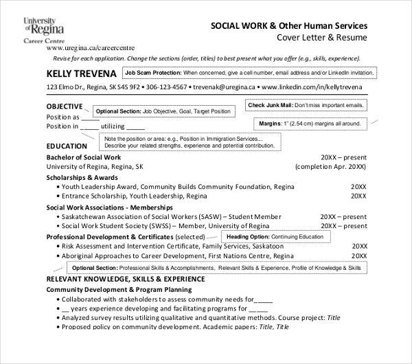 social work resume templates pdf free premium words human service template hvac job Resume Social Work Resume Words