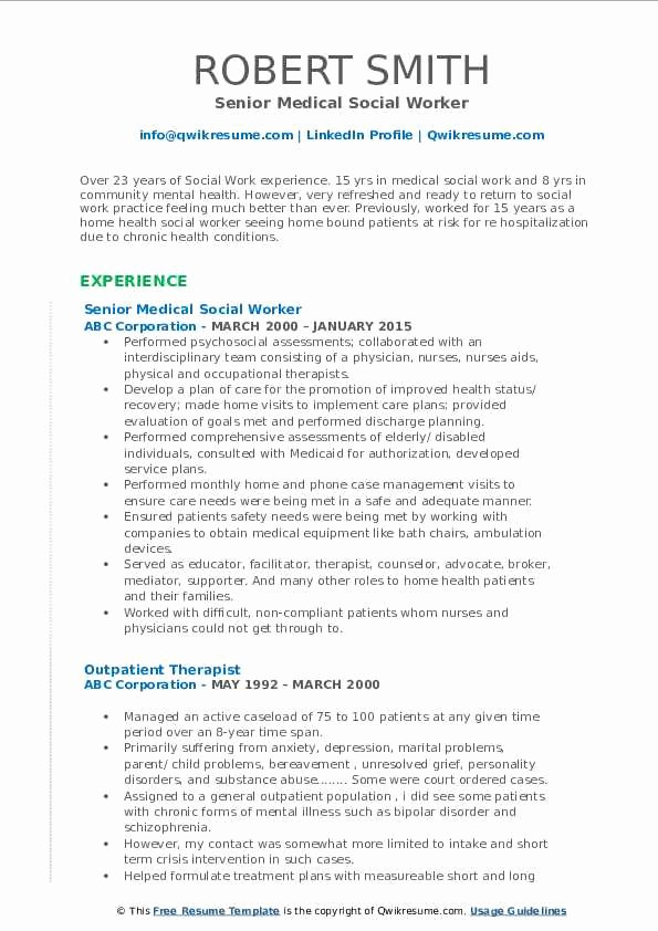 social worker resume sample beautiful medical samples elfaro of photography business Resume Medical Social Worker Resume