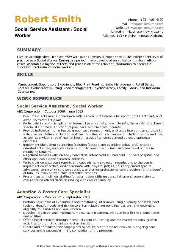 social worker resume samples qwikresume work words pdf free software implementation Resume Social Work Resume Words