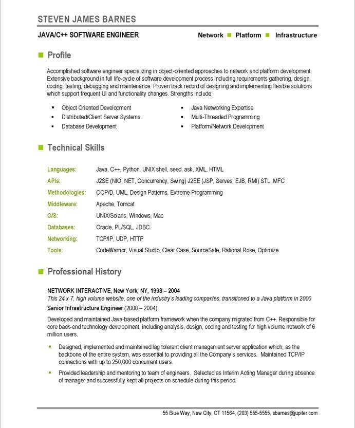 software developer page1 free resume samples template best python projects for microsoft Resume Best Python Projects For Resume