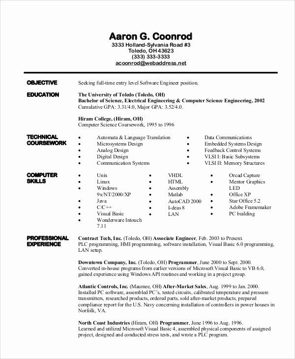 software engineer resume example best examples livecareer writing reviews library Resume Software Engineer Resume 2020