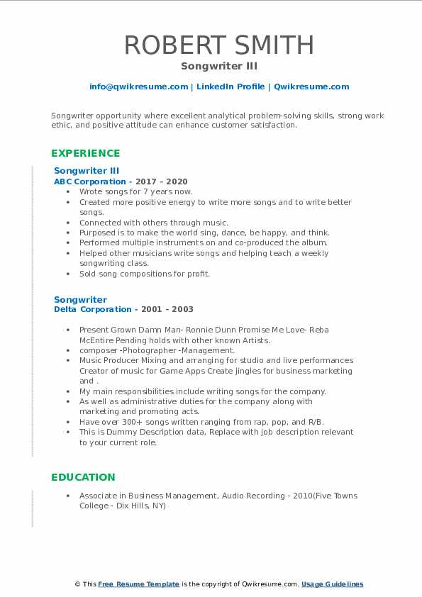 songwriter resume samples qwikresume music composition pdf goals tags sap pi consultant Resume Music Composition Resume