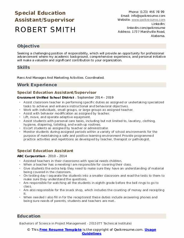 special education assistant resume samples qwikresume sample needs pdf of solar engineer Resume Sample Resume Special Needs Assistant