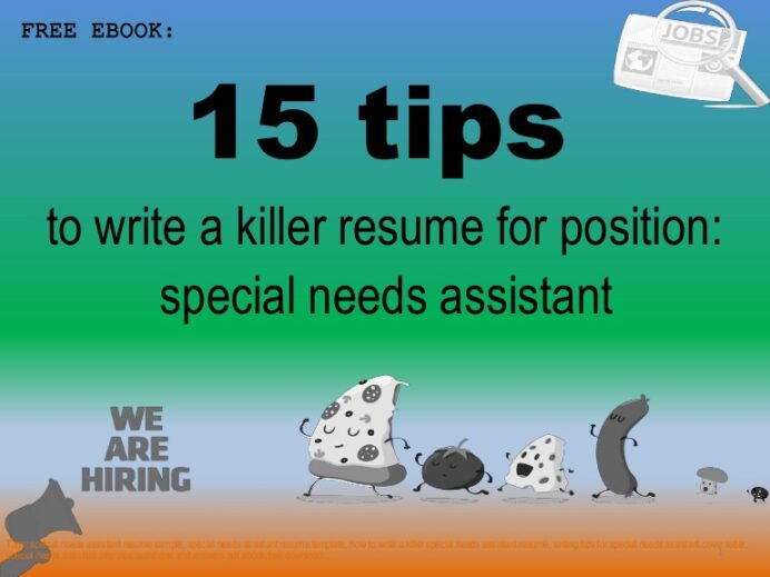 special needs assistant resume sample pdf ebook free Resume Sample Resume Special Needs Assistant