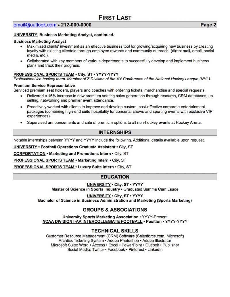 sports and coaching resume sample professional examples topresume on example fitness Resume Sports On Resume Example