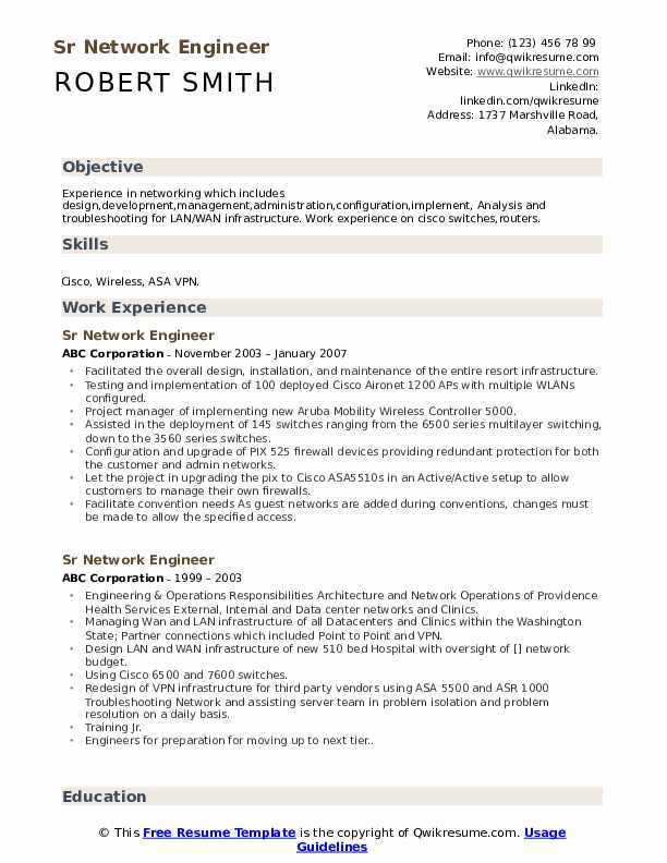 sr network engineer resume samples qwikresume ccna sample for experience pdf retention Resume Ccna Sample Resume For Experience