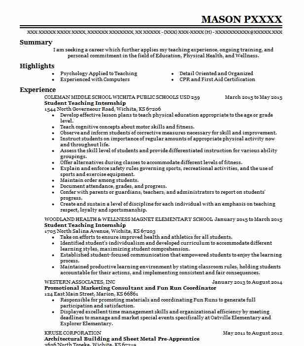 student teaching internship resume example elementary school luckey teacher experience on Resume Student Teacher Experience On Resume