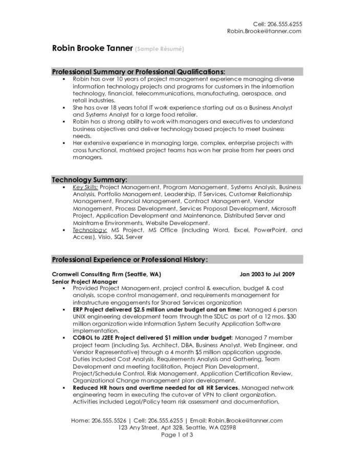 summary resume sample for examples get ideas make drop project manager vendor management Resume Vendor Management Resume Summary