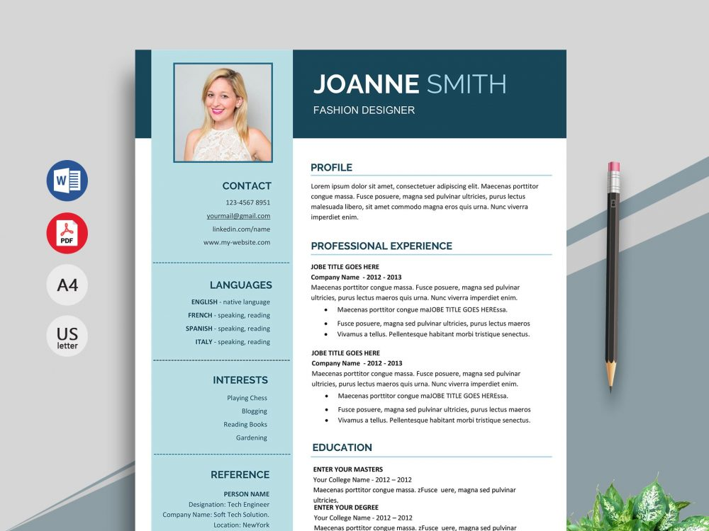 superb resume template in word format resumekraft linkedin builder 1000x750 idq Resume Linkedin Resume Builder Word Format