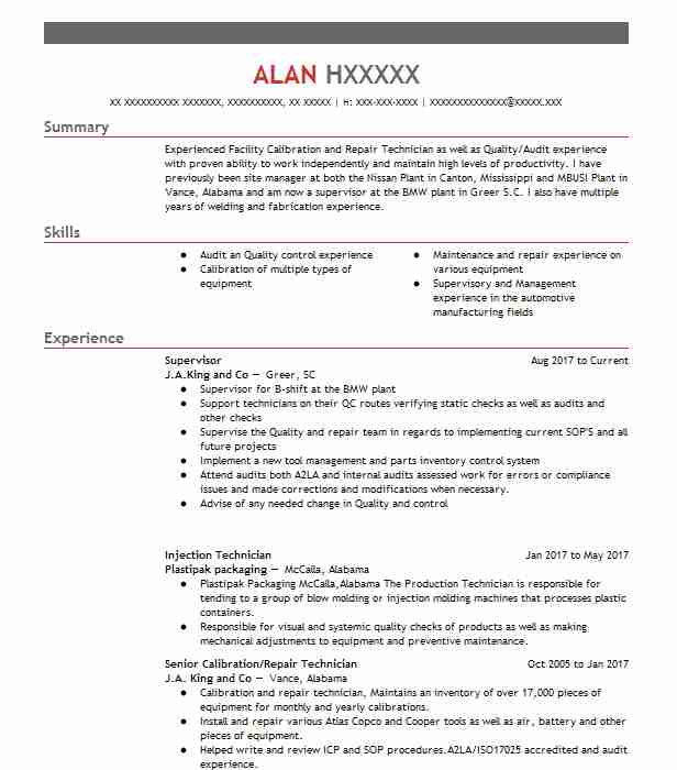 supervisor resume example resumes livecareer objective samples wizard reviews career Resume Supervisor Resume Objective Samples