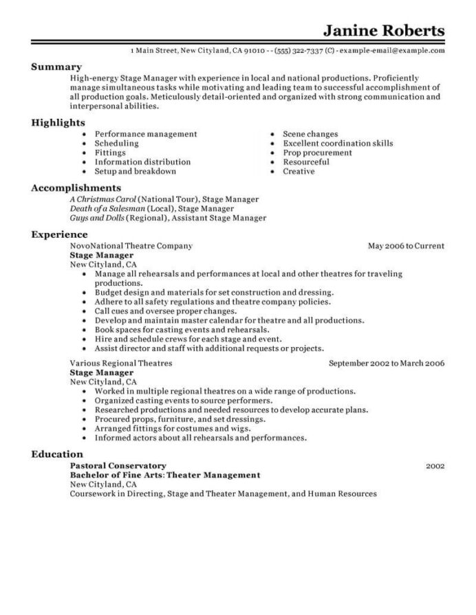 supervisor resume example resumes livecareer post office media entertainment classic does Resume Post Office Supervisor Resume